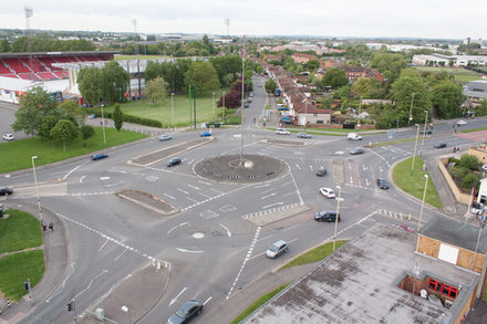 Bild des Magic Roundabout in Swindon